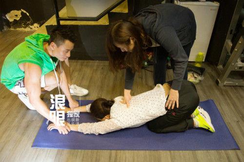 王珞丹加盟《破风》爬坡锻炼变成肌肉女