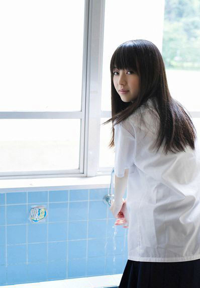 日本美少女清纯范儿写真