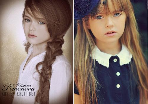 05后来袭俄罗斯9岁萝莉模特走红