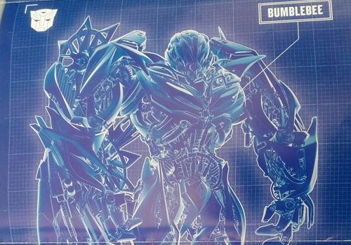 《变形金刚4》角色蓝图曝光