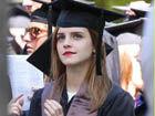 艾玛毕业照美惊人明星披学士服谁是真学霸