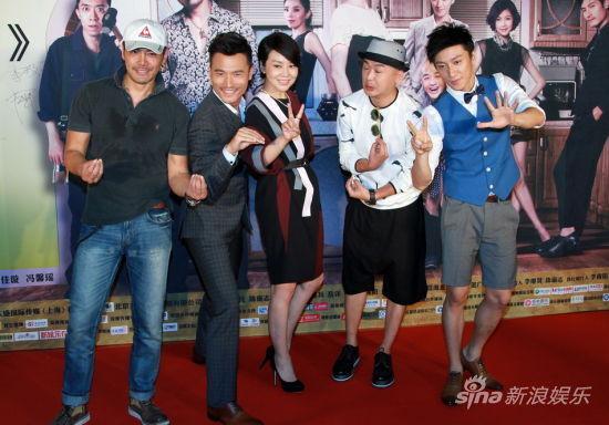 《疯狂72小时》首映闫妮成新女性偶像
