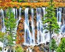 去国内最美瀑布寻清凉