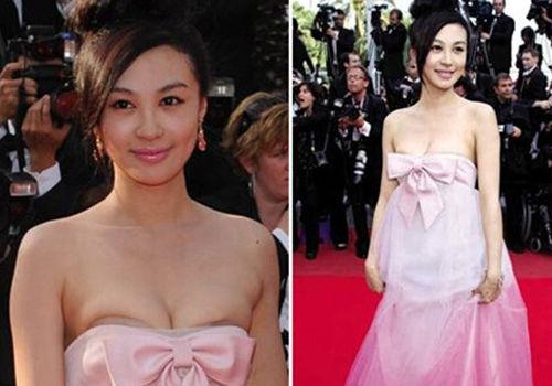 公开场合走光浑然不知的十大中国女星(图)