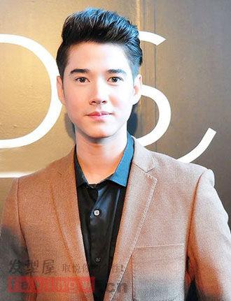 泰国十大最帅男神发型 Ken mike魅力领衔图片