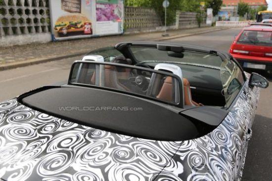 新奥迪TT Roadster敞篷跑车四座变两座高清图片
