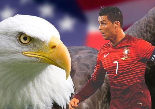 球迷恶搞葡萄牙美国之战