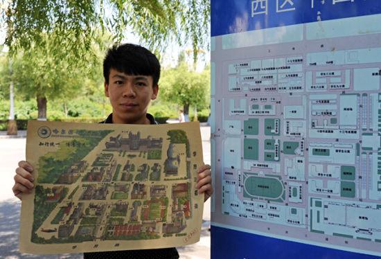 85后女教师和大学生手绘武汉老房子地图 2014-01-22 10:52:42 女大学