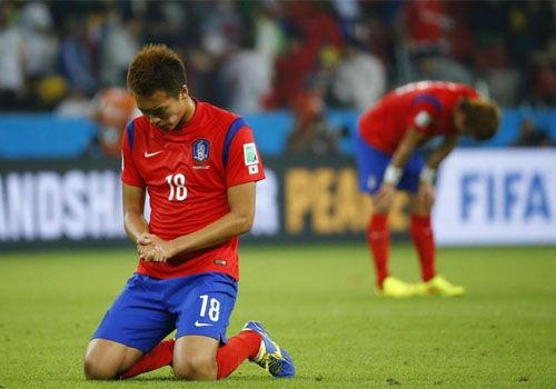 盘点运动员告别世界杯绿茵场悲情瞬间