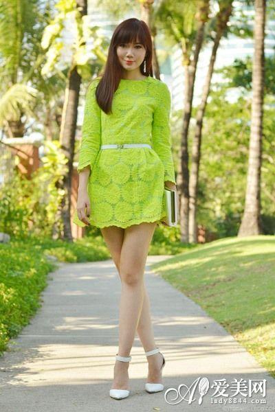 绿色手机壁纸 美女