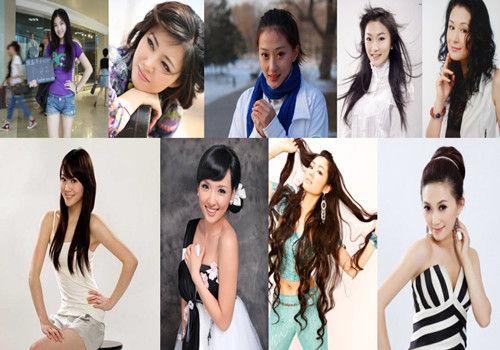 揭赵本山旗下的十大美女个个都是大美人(组图)