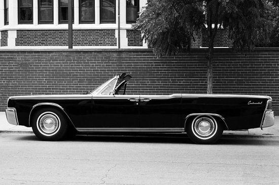 经典1963年林肯大陆敞篷车图赏(2)