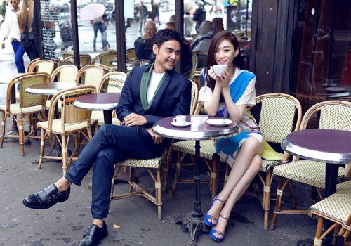 明道李小冉探寻巴黎街巷共享浪漫时光