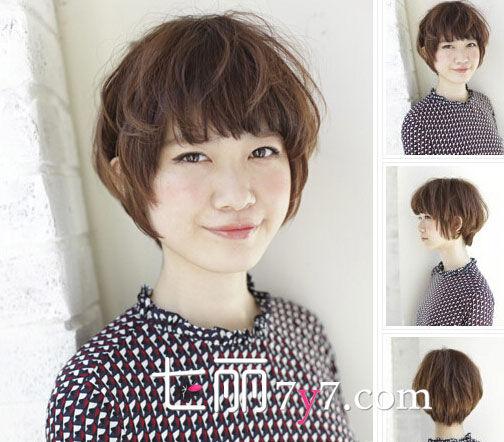 女生蘑菇头短发图片 可爱小女生专属发型