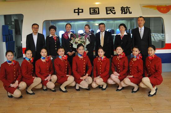 哈尔滨市航空服务中专国际化办学新步伐
