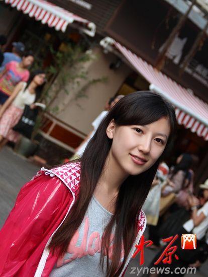 馥溶曾是河南省实验中学的校花