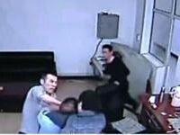 哈尔滨3名犯人杀警越狱过程监控视频曝光