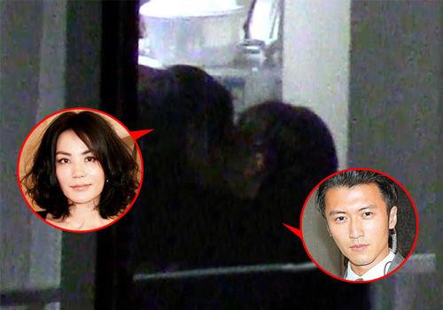 网曝峰菲再复合谢霆锋王菲寓所拥吻