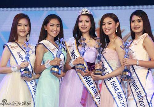 泰国18岁女生选美夺冠高挑清纯美过人妖