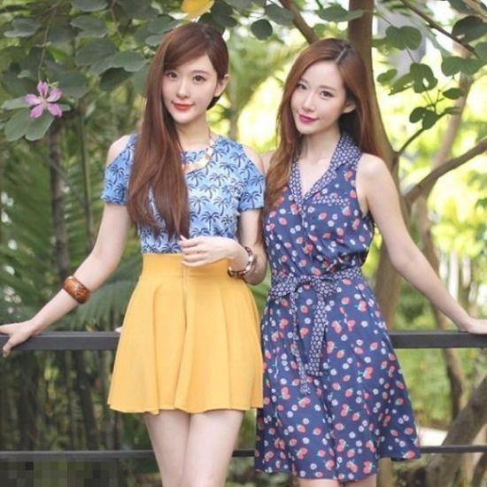 印尼清新网拍姊妹花爆红 被赞才貌双全(图)(7)