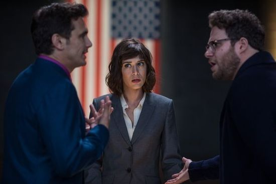 《刺杀金正恩》票房破2亿将在英国上映
