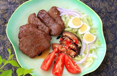 煎牛排沙拉的做法详细介绍