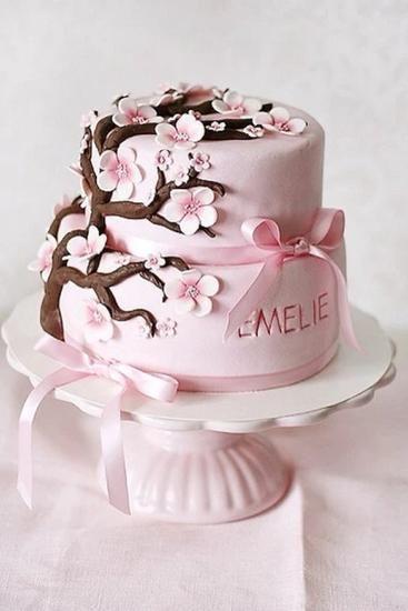 美的翻糖蛋糕已经是婚礼上的常客了