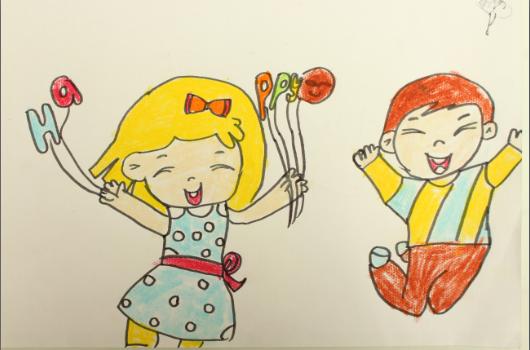 小朋友的世界永远是充满着幻想的,在他们眼里,蜗牛是小草的伙伴,蚂蚁是大象的朋友,小小的梦想可以乘着火箭飞翔他们,拿起彩笔就能绘就梦想,用童心就能书写希望。   3月21日至22日,万达新浪杯宝宝涂鸦大赛在哈尔滨香坊万达广场欢乐开启,为喜爱绘画、追逐梦想的儿童搭建宽阔的创作舞台。我们从作品中初选出十七幅进行线上评选,按照得票数从高到低,前5名宝贝将获得由新浪 黑龙江颁发的证书及香坊万达提供的精美礼品一份!