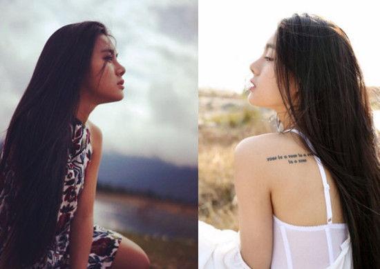 20岁佤族少女美艳夺目被赞双面娇娃组图
