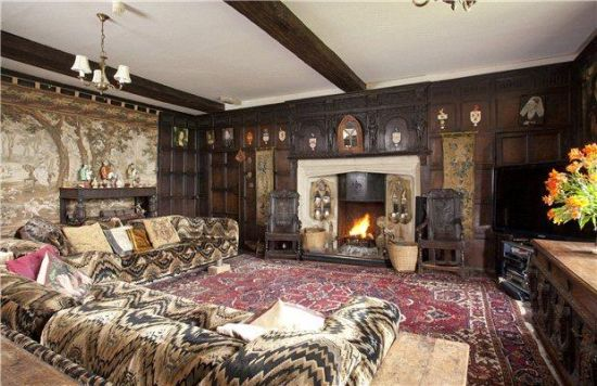 英伦复古风房屋设计图展示