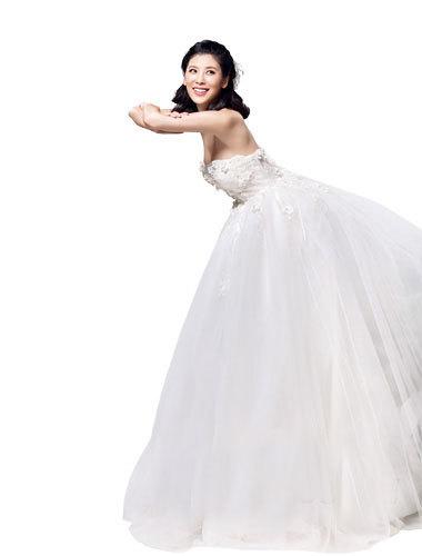 欧式新娘纸妆图片大全