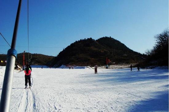 蓟县梨木台冬天风景